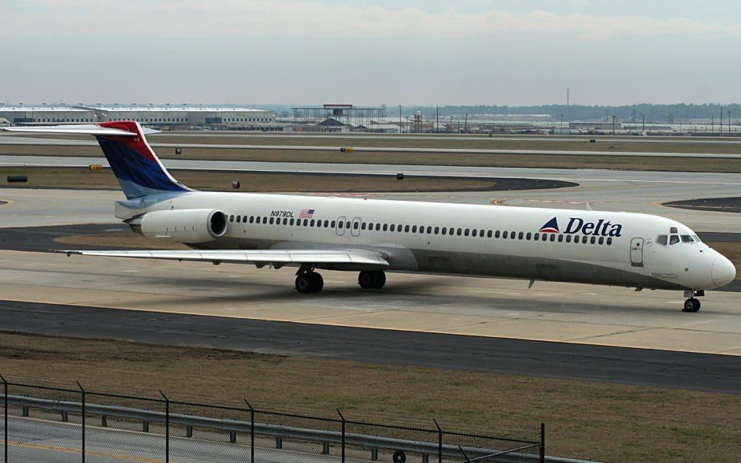 Delta flight DL1425 MD-88 experiences engine failure