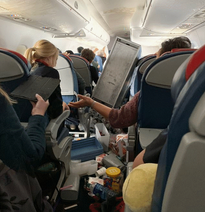 Delta 5763: Clear Air Turbulence Rattles Nerves
