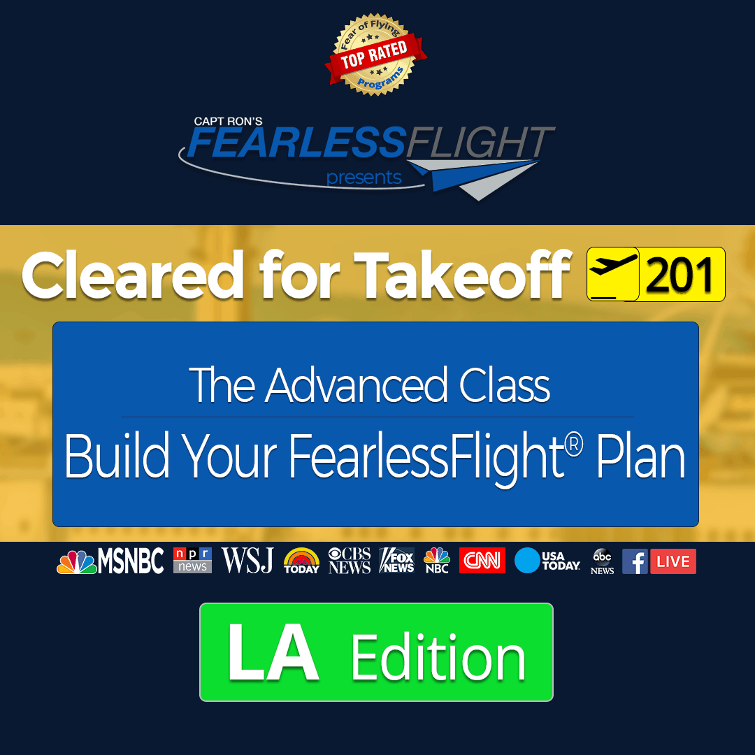 Cleared for Takeoff - Fear of Flying Classes with Capt  Ron